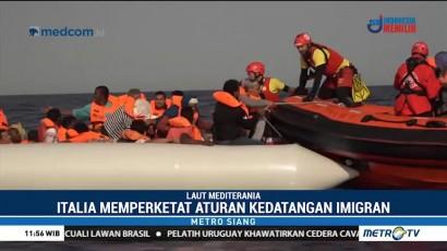 60 Imigran Terdampar di Mediterania Diselamatkan Petugas Spanyol