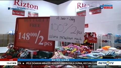 Berburu Diskon Besar-besaran di Hari Terakhir Jakarta Fair 2018