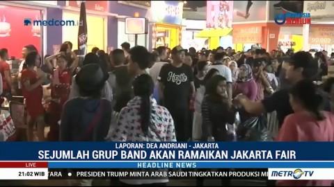 Hari Terakhir Jakarta Fair 2018 Masih Ramai Pengunjung