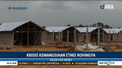 Banjir dan Longsor, Pengungsi Rohingya di Bangladesh Direlokasi