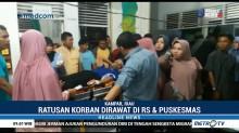 Ratusan Warga Koto Perambahan Keracunan Makanan Pesta