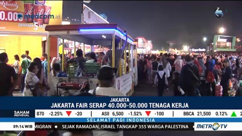 Pengunjung Jakarta Fair 2018 Capai 6,7 Juta Orang