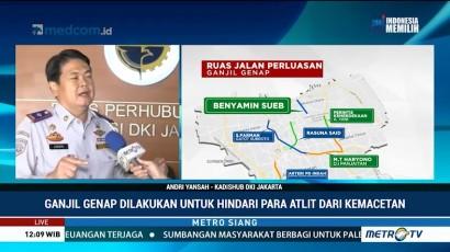 Ganjil Genap Diperluas, Dishub Antisipasi Kemacetan di Jalur Arteri