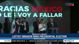 Leftist Lopez Obrador Wins Mexico's Presidential Election