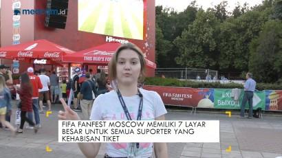 Keseruan FIFA Fan Fest Moscow, #SalamdariRusia
