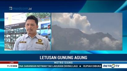 PVMBG: Ada Pergerakan Magma Baru dari Gunung Agung