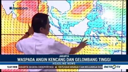 BMKG Keluarkan Peringatan Dini Cuaca Buruk