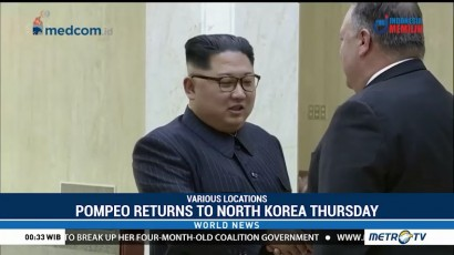 Pompeo Returns to North Korea Thursday