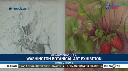 Washington Exhibit Showcases Delicate Beauty of Botanical Art