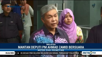 Mantan Deputi PM Malaysia Tanggapi Penangkapan Najib Razak