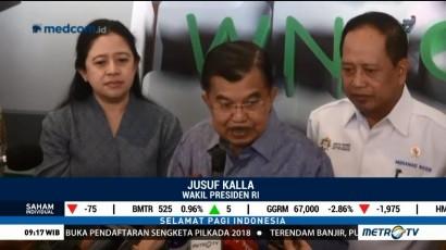 JK: Eksportir Harus Manfaatkan Pelemahan Rupiah