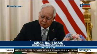 Najib Razak Minta Maaf ke Warga Malaysia