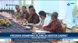 Temui Jokowi, Pimpinan KPK Sampaikan Pandangan soal RKUHP