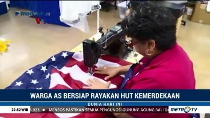 Warga AS Bersiap Rayakan HUT Kemerdekaan