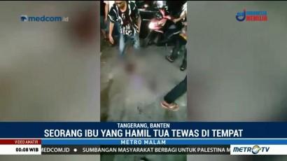Wanita Hamil Tewas Ditembak Begal di Tangerang
