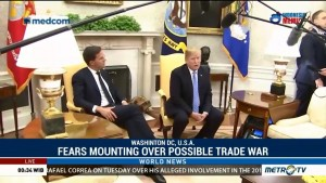 Fears Mounting Over Possible Trade War