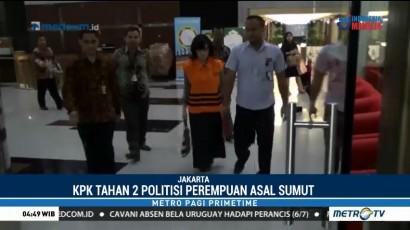 Dua Anggota DPRD Sumut Resmi Ditahan KPK
