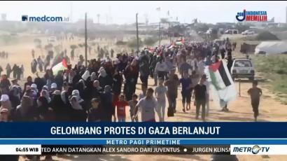 Perempuan Palestina Gelar Aksi Protes