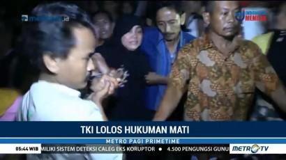 TKI Nurkoyah Tiba di Kampung Halaman