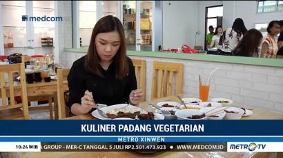 Mencicipi Kuliner Padang Vegetarian