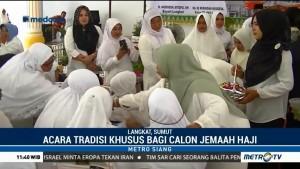 Pemkab Langkat Gelar Tradisi Khusus untuk Calon Haji