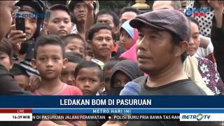 Saksi Bom Pasuruan: Terduga Pelaku Mengaku Ledakan Berasal dari Elpiji