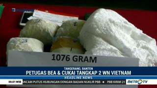 Dua WN Vietnam Selundupkan Sabu di Dalam Popok
