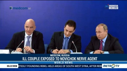 Ill Couple Exposed to Novichok Nerve Agent