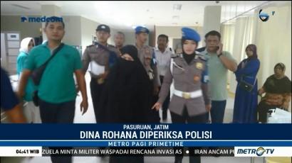 Istri Terduga Teroris di Pasuruan Diperiksa Polisi