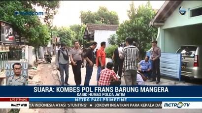 Polda Jatim Bantah Kapolsek Bangil Diserang Pelaku Bom Pasuruan