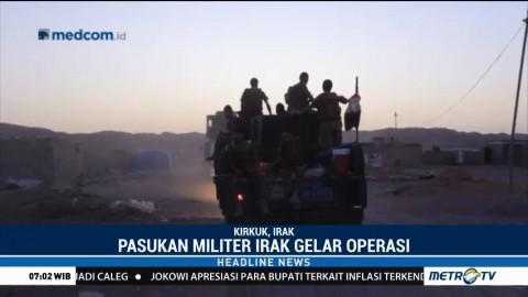 Militer Irak Sisir Wilayah Kirkuk