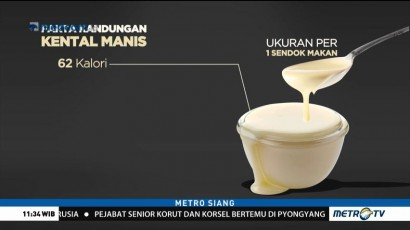 Fakta Kandungan Susu Kental Manis
