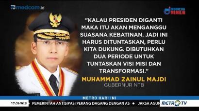 Jokowi: Dukungan TGB Bentuk Apresiasi Terhadap Pemerintah