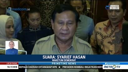 Demokrat: Prabowo Usulkan AHY Jadi Cawapresnya
