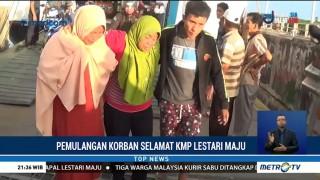 Enam Korban Selamat KM Lestari Maju Tiba di Pelabuhan Bira