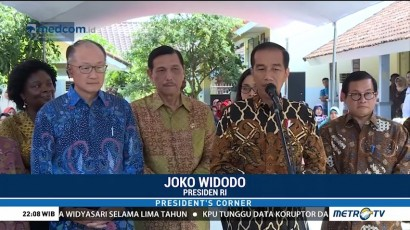 Cara Jokowi Menjamu Presiden Bank Dunia