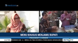 Jokowi Jamu Para Bupati dengan Hidangan Khusus