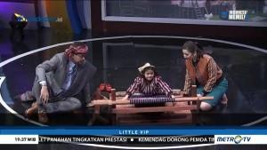 Nantika Sihombing Ajari Cak Lontong Menenun