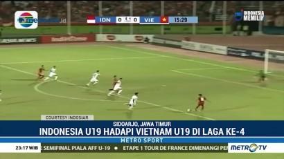 Taklukkan Vietnam, Indonesia Lolos ke Semifinal Piala AFF U-19