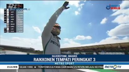 Hamilton Raih Pole Position di Kualifikasi GP Inggris