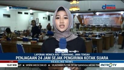 375 Personel Kepolisian Jaga Ketat Rapat Pleno Pilgub Jateng