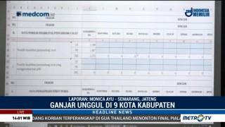 Hasil Sementara: Ganjar-Taj Yasin Unggul di 9 Kota/Kabupaten