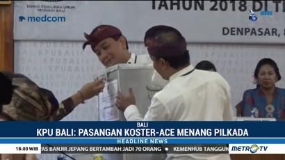 Koster-Ace Menang Pilgub Bali