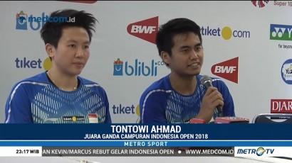 Indonesia Raih Dua Gelar di Indonesia Open 2018
