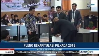 4 Paslon Gubernur Jabar Tak Keberatan dengan Hasil Rekapitulasi