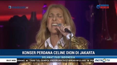 Keseruan Konser Celine Dion di Jakarta