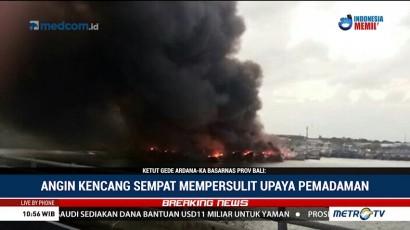 Basarnas: Kebakaran Kapal di Bali Sudah Padam