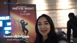 Keseruan Medcom.id Movie Night with Bank BJB