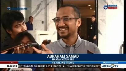 Abraham Samad Tawarkan Gagasan Kebangsaan pada Surya Paloh