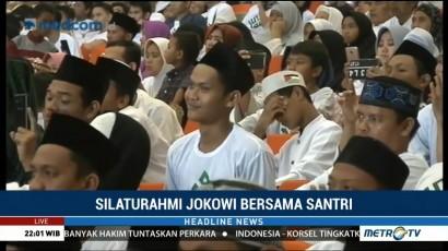 Ribuan Ulama Muda Deklarasikan Dukungan untuk Jokowi